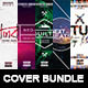 Cover Bundle   5 Futuristic Album CD Mixtape Template