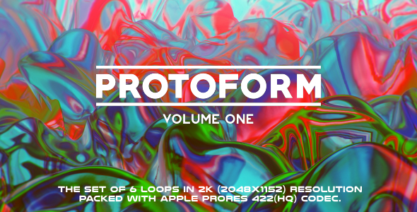VideoHive Protoform Loops Volume One 6 Pack 17442972