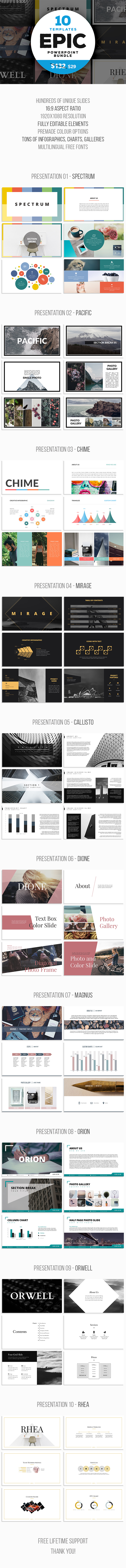 Xelex Multipurpose Template (PowerPoint Templates)