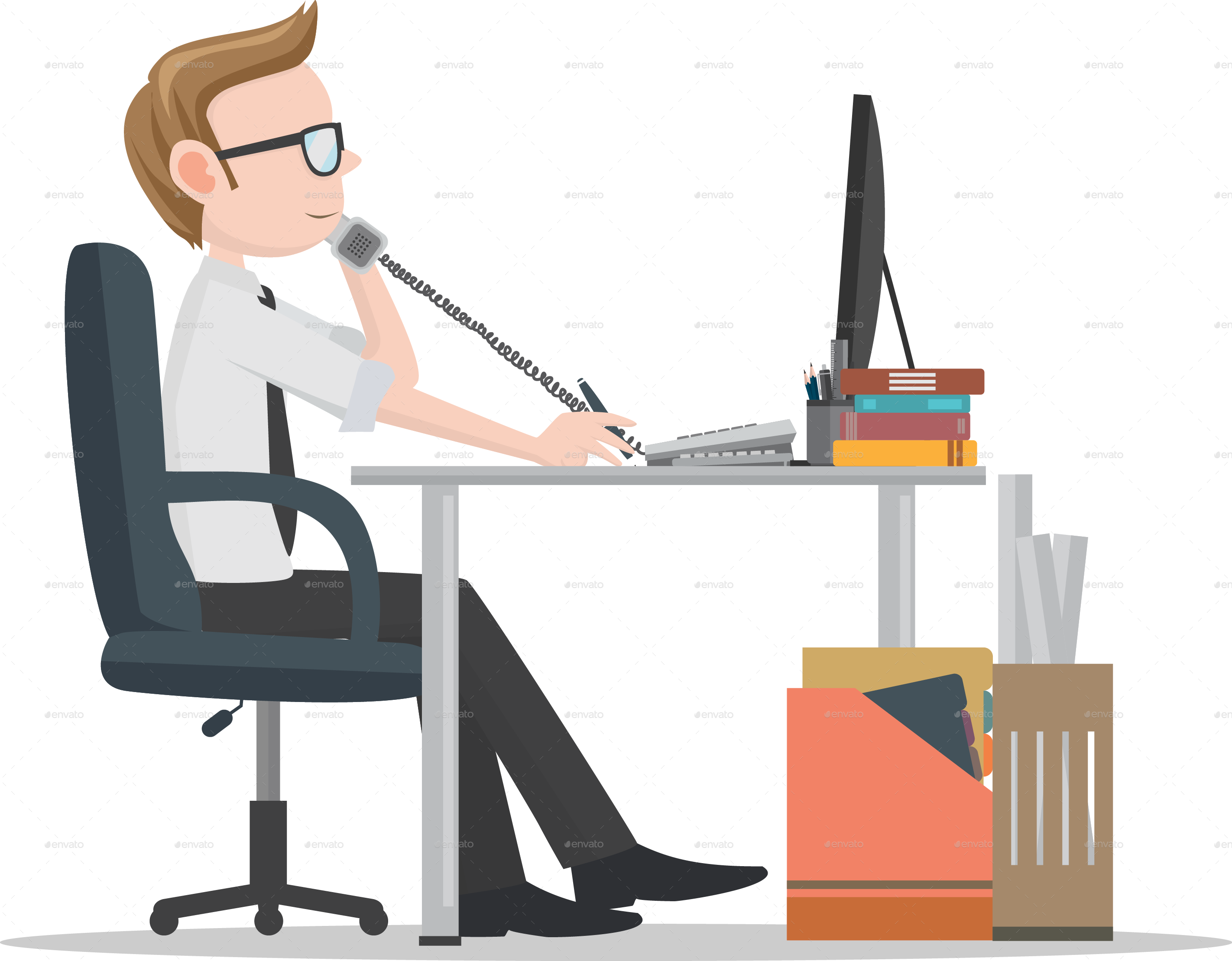 office clipart png - photo #29