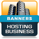 Advanced Hosting Business Banners - HTML5 Animated GWD