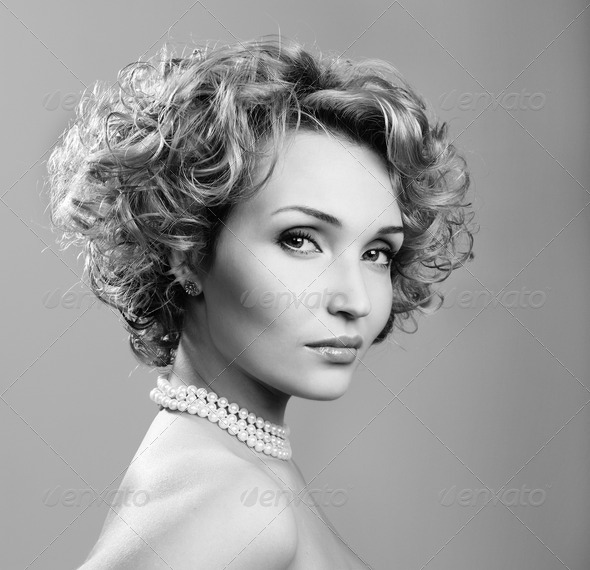 Black and white beauty - Stock Photo - Images