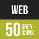 Web Greyscale Icons
