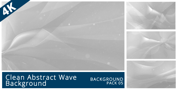 VideoHive Clean Origami Abstract Wave Backgound 17444574