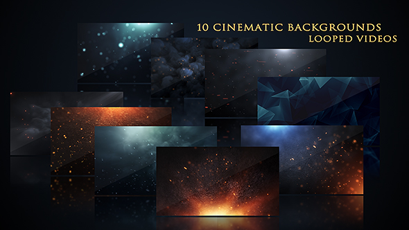 VideoHive Cinematic Background Pack 17444843