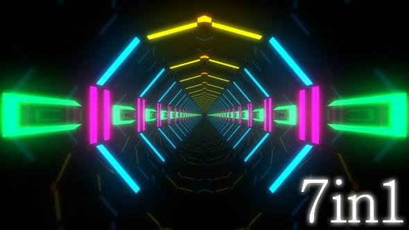 VideoHive Neon Lights 17444866