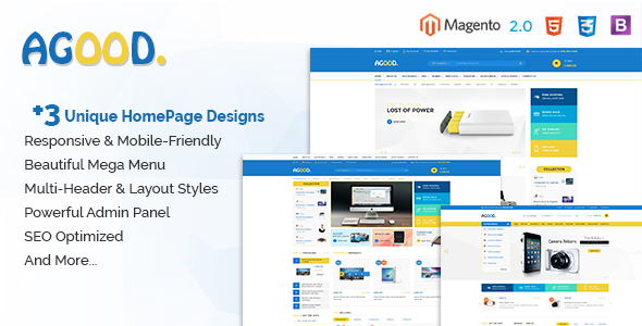 Download Agood - Responsive Multipurpose Magento 2 Theme nulled download