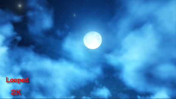 VideoHive Night Sky 17445827