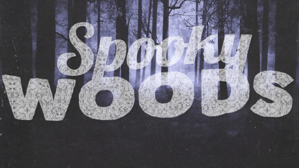 VideoHive Spooky Woods 17447060