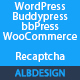 Wordpress BuddyPress bbPress WooCommerce Recaptcha
