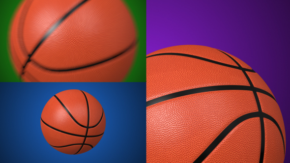 VideoHive Basketball Ball 17447527