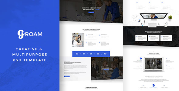 GROAM - PSD Template