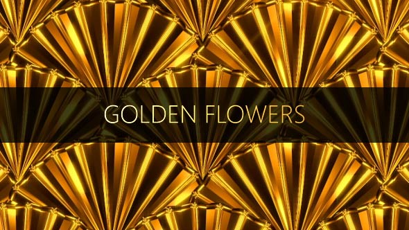 VideoHive Golden Flowers 17448731