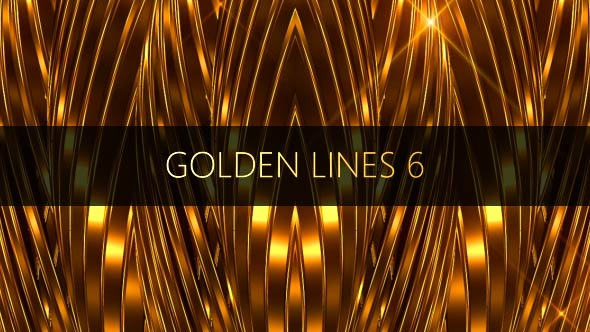 VideoHive Golden Lines 6 17448743