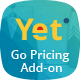 Yet Skin - Add-on for Go Pricing