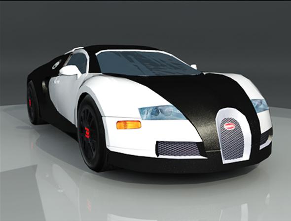 Bugatti Veyron - 3DOcean Item for Sale