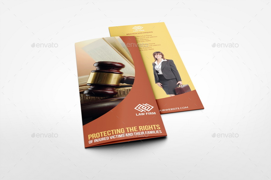 Law firm tri fold brochure template by owpictures for Law firm brochure template