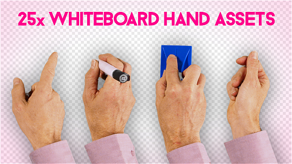 Download Hands Whiteboard Animation Male nulled download