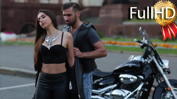 Download Couple in Love Hugging and Flirting in Front of nulled download