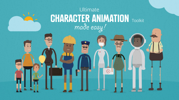 Videohive - Ultimate Character Animation Toolkit 17451884 - Free Download