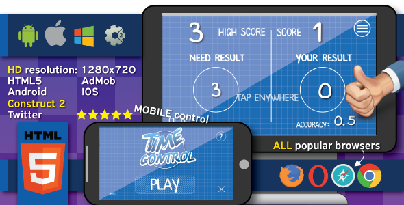 Time control - HTML5 (.capx)