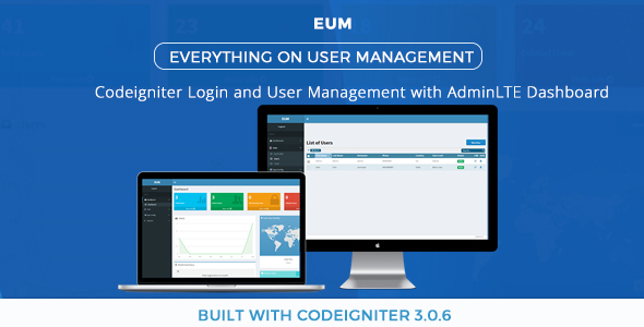 Download Codeigniter Login and User Management System Using AdminLTE nulled download