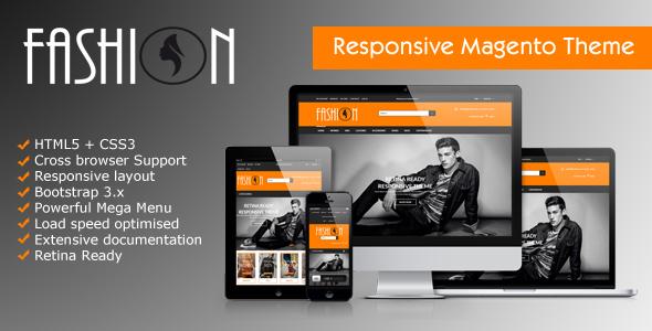 Image of Fashion - Responsive Magento Theme | Fashion