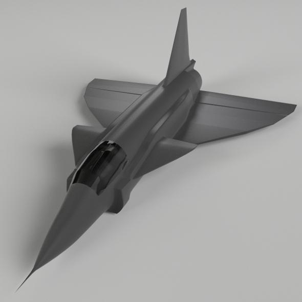 SAAB 37 Viggen - 3DOcean Item for Sale