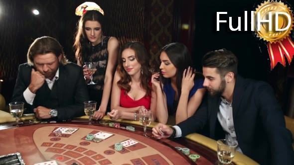 Download Company of Men and Women Playing Blackjack nulled download