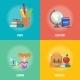 Education Infographics Concept Icon