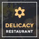 "Delicacy - Bistro  <hr/> <p> Cafe and Restaurant Responsive Muse Template"" height=""80″ width=""80″></a></div> <div class="