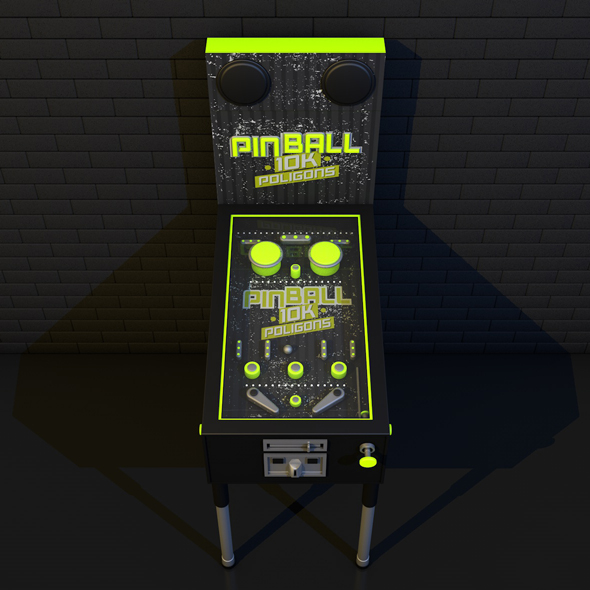 PINBALL FLUO - 3DOcean Item for Sale
