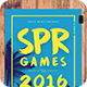 Super Games Minimal Flyer
