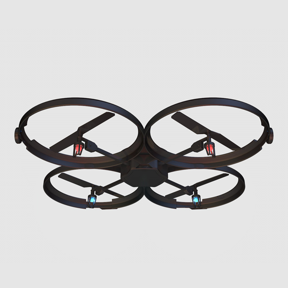 SLIM LITTLE DRONE - 3DOcean Item for Sale