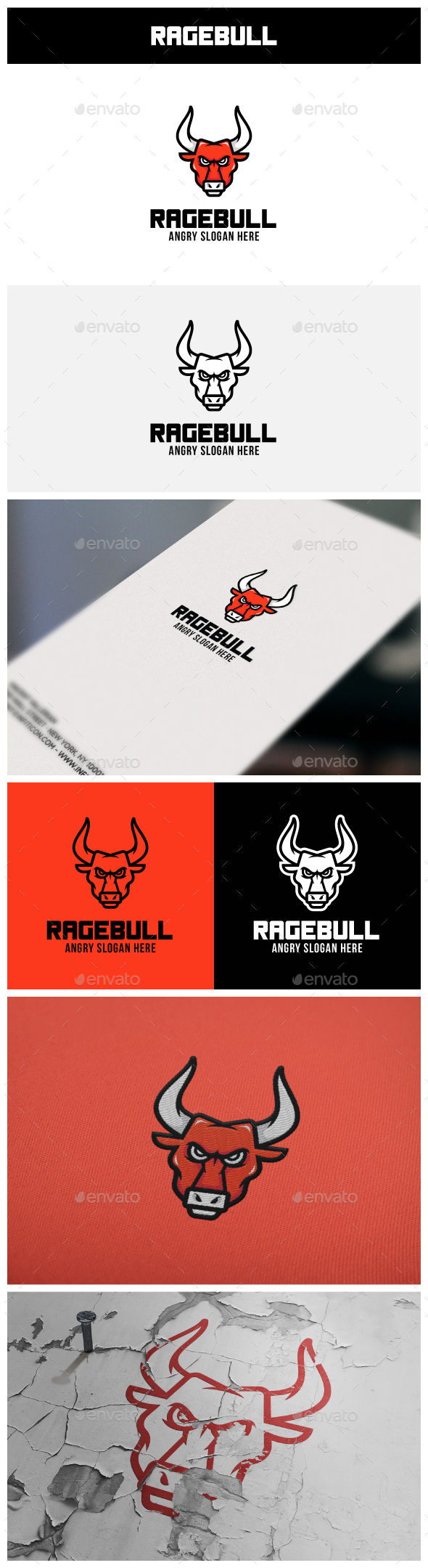 RageBull Logo