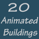 20 Animated Buildings