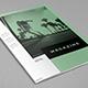 Minimal White Simple Magazine