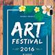 Art Festival Party Flyer
