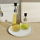 Olive oil bottle set