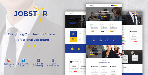 Jobstar - Job Board & Job Listing HTML Template