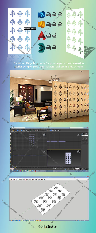 Flourish (3D Screen) PD_A03 - 3DOcean Item for Sale