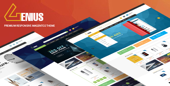 Download Genius - Multipurpose Responsive Magento 2 Theme nulled download