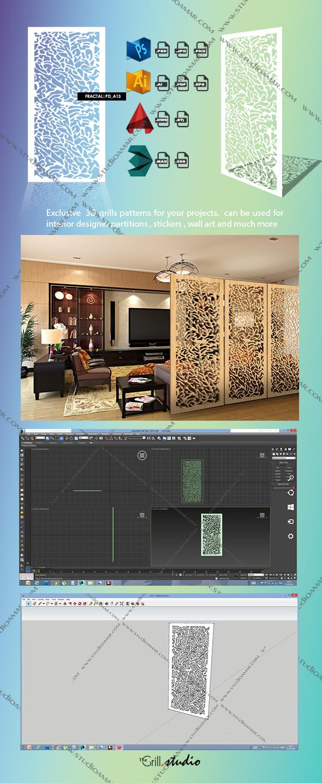 Fractal (3D Screen) PD_A13 - 3DOcean Item for Sale