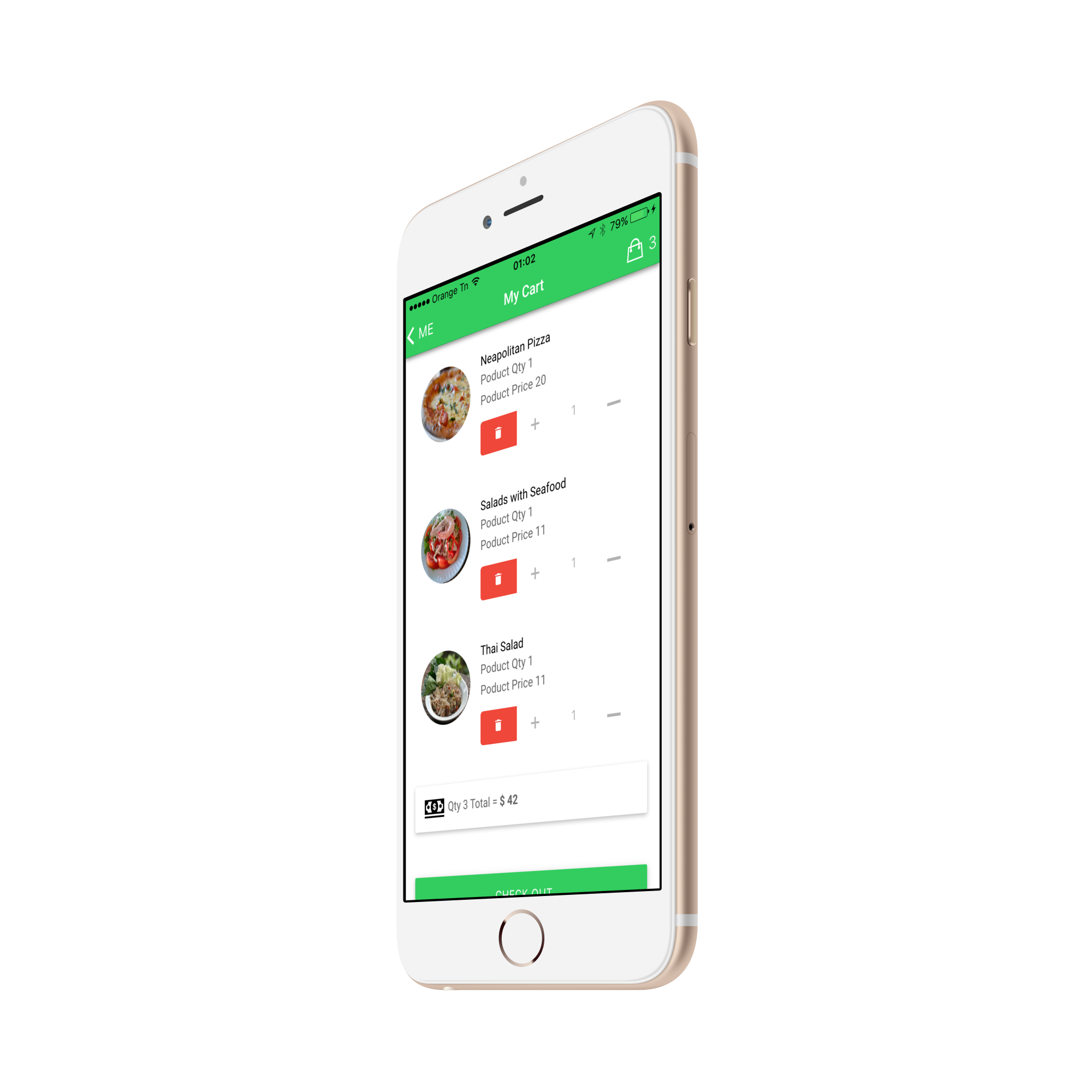 my food delivery full restaurant orders with backend