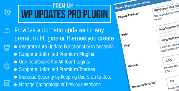 Automatic Updates for Premium Plugins & Themes