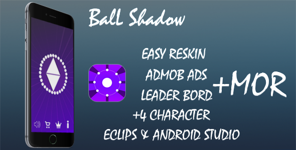 Ball Shadow - Template Buildbox+admob+leaderboard+splash screen+Xcode Project - CodeCanyon Item for Sale