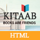 Kitaab Book Store HTML5 Template
