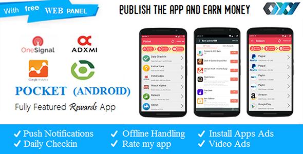 Download Android Rewards App - POCKET nulled download