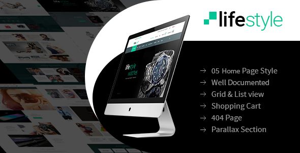 LifeStyle - eCommerce Multi-Purpose WordPress Theme