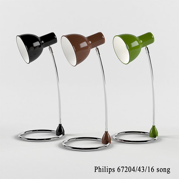 Desk lamp Philips 67204/43/16 Song - 3DOcean Item for Sale